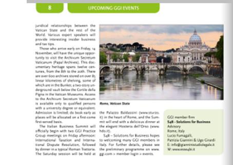 GGI – World Conference