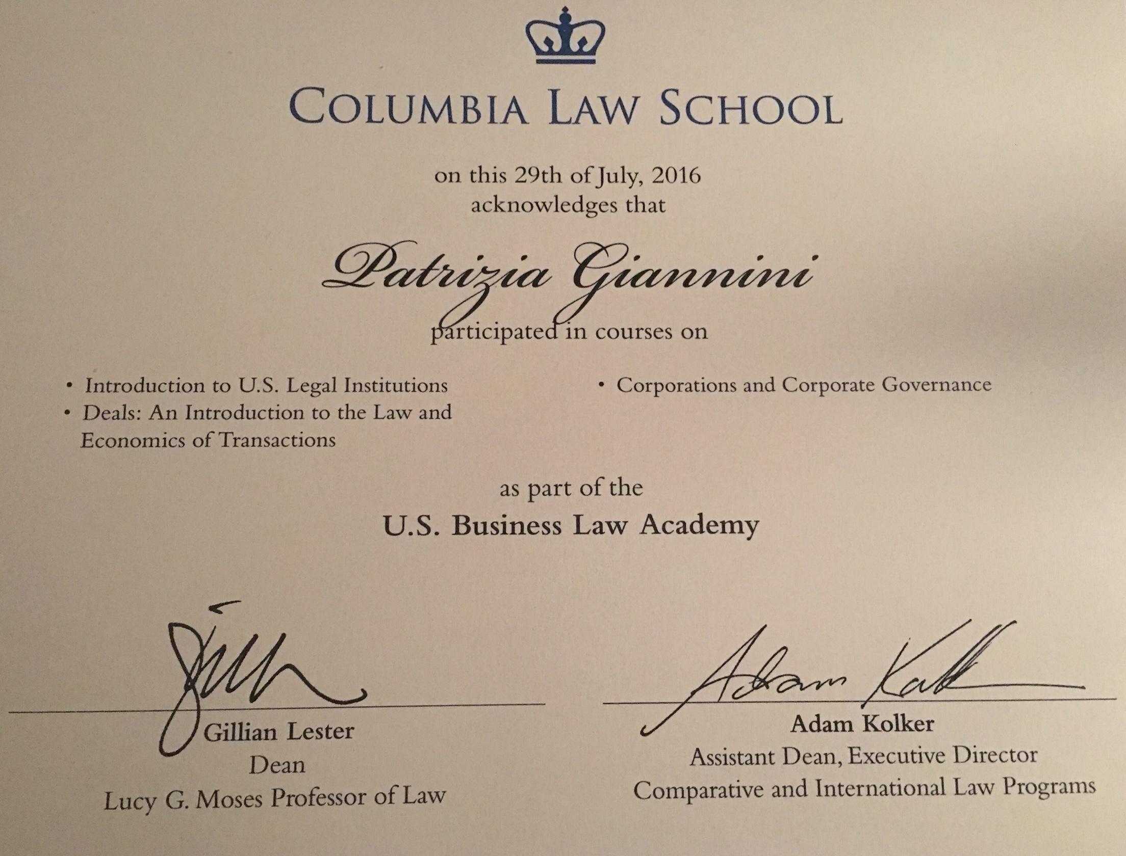 columbia university law school